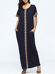Round-Neck-Pocket-Awesome-Printed-Maxi-Dress
