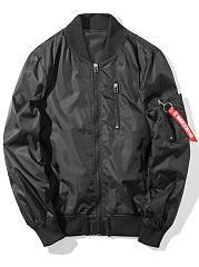 Band-Collar-Printed-Men-Bomber-Jacket