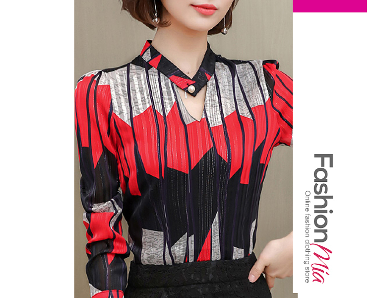 gender:women, thickness:regular, brand_name:fashionmia, style:elegant,fashion,japan & korear, material:chiffon, how_to_wash:cold  hand wash, supplementary_matters:all dimensions are measured manually with a deviation of 2 to 4cm., package_included:top*1, lengthshouldersleeve lengthbust