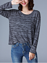 Loose-Round-Neck-Long-Sleeve-T-Shirt