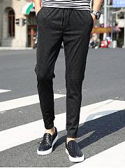 Elastic-Waist-Printed-Mens-Casual-Jogger-Pants
