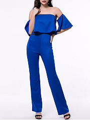 Stylish-Solid-Flounce-Off-Shoulder-Straight-Jumpsuit