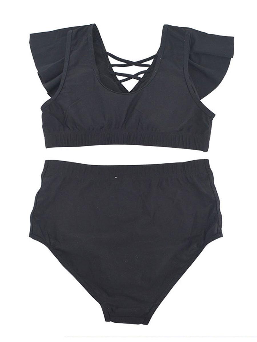 Korean Style Flounce Bikini