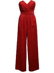 Strapless-Plain-Wide-Leg-Jumpsuit
