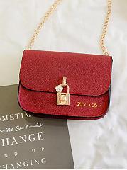 Elegant-Stylish-Shine-Chain-PU-Crossbody-Bag