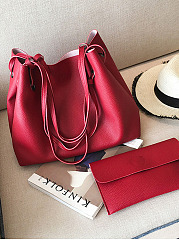 Two-Piece Shoulder Bag And Handbag