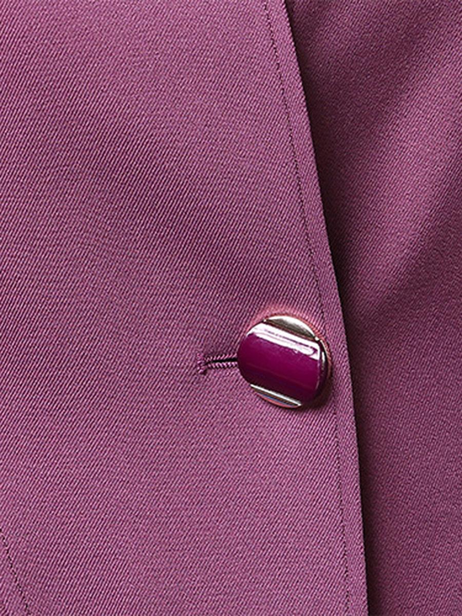Plain Longline Single Button Pocket Trench Coat