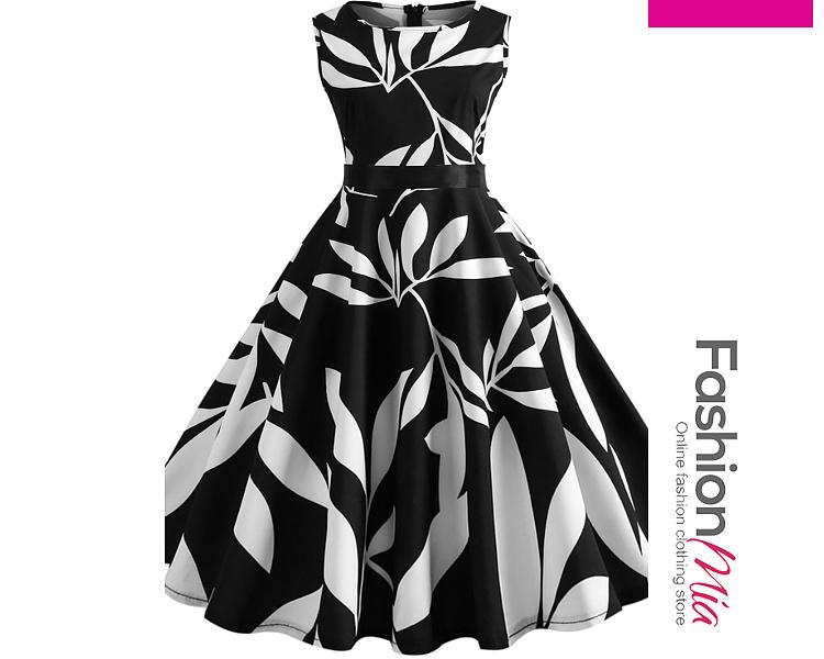 Zips  Printed Dresses
