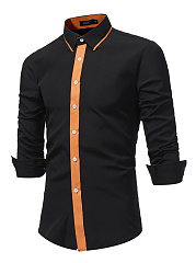 Designed-Contrast-Trim-Men-Shirts