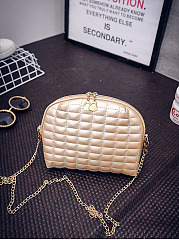 Gold-Pu-Quilted-Chain-Crossbody-Bag