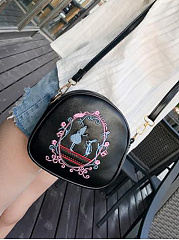 Fashion-Cute-Embroidery-Stylish-PU-Crossbody-Bag