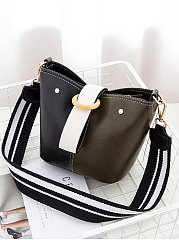 Color Block Mini Women Crossbody Bags