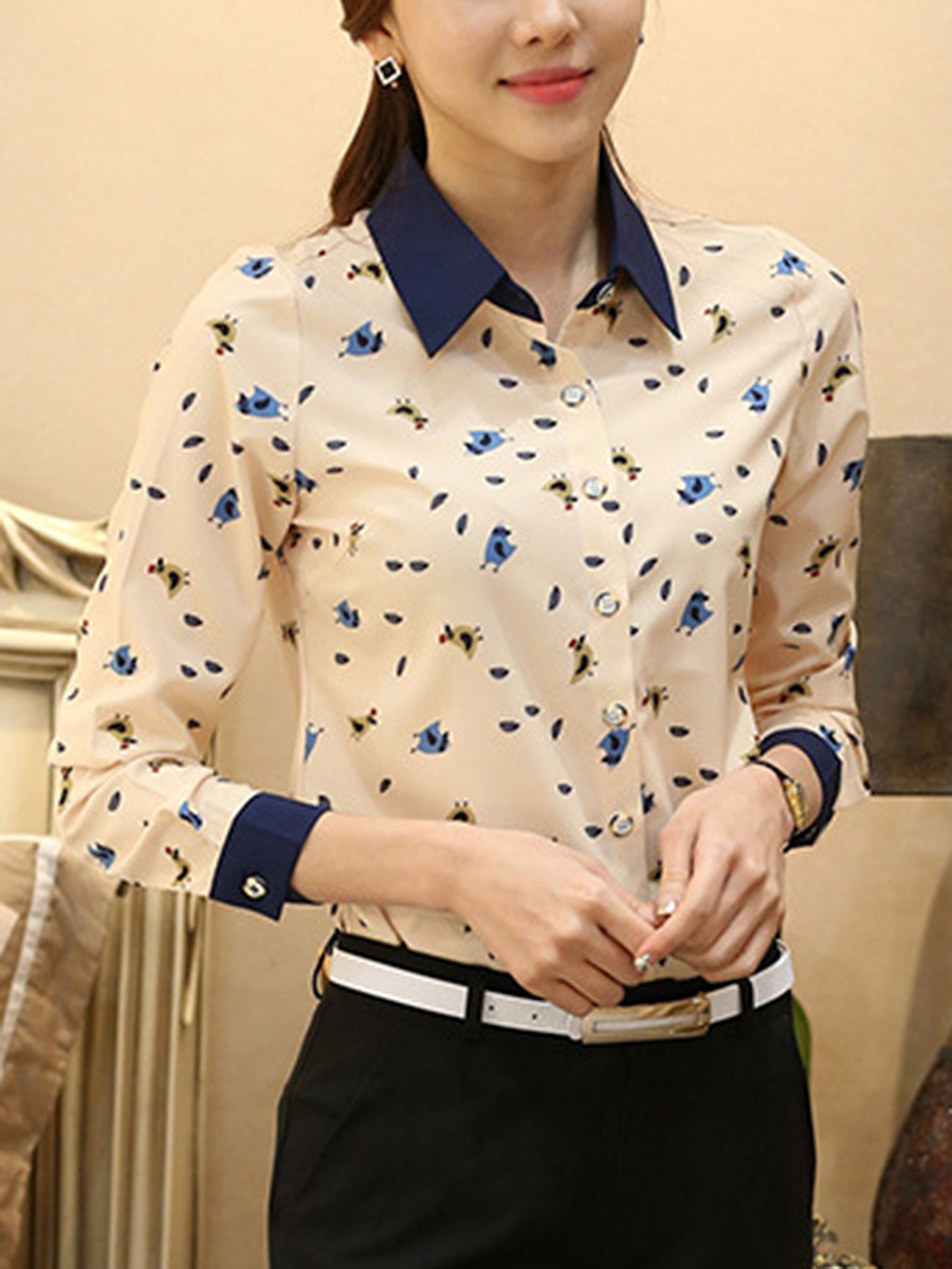Lovely Printed Chiffon Blouse