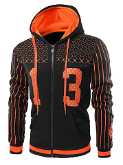 Stylish-Hooded-Patch-Pocket-Printed-Striped-Men-Coat
