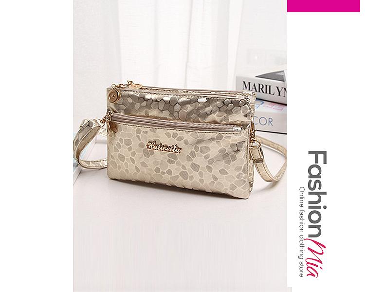 Zips Glitter Crossbody Bags