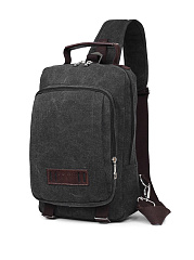 Canvas Travel One Shoulder Backpack
