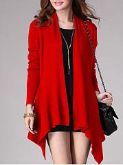 Cardigan-Red-Gray-Black
