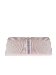Plain-Diamante-Pleated-Two-Way-Clutch