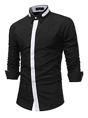 Trendy-Long-Sleeve-Color-Block-Men-Shirts
