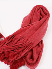 New Warm Tassel Decoration Long Scarf For Winter