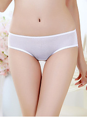 Low-Rise Mesh See Through Underpant