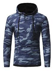 Camouflage-Drawstring-Men-Hoodie