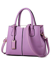 New Candy Color Korea Stylish All-Match Rivet Zipper Hand Bag