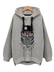 Oversized-Owl-Printed-Zips-Hoodie