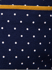 Polka Dot Button Down Collar Men Shirts