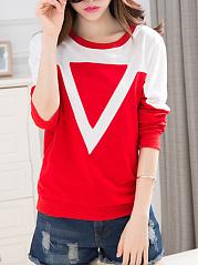 Round-Neck-Color-Block-Sweatshirt