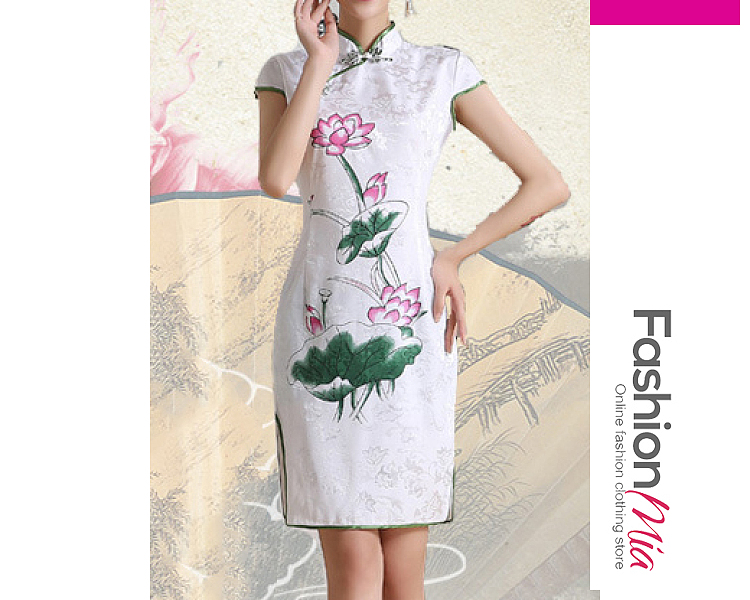 thickness:regular, brand_name:fashionmia, style:western, material:blend, collar&neckline:band collar, sleeve:short sleeve, pattern_type:plain, length:knee-length, how_to_wash:cold  hand wash, occasion:daily,date, season:summer, dress_silhouette:sheath, package_included:dress*1, lengthshoulderbustwaisthip