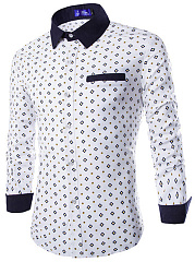 Attractive-Printed-Men-Turn-Down-Collar-Shirts