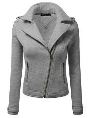 Lapel-Zips-Plain-Jacket