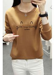 Round-Neck-Cartoon-Sweatshirts