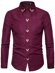 Contrast-Embroidery-Men-Shirts