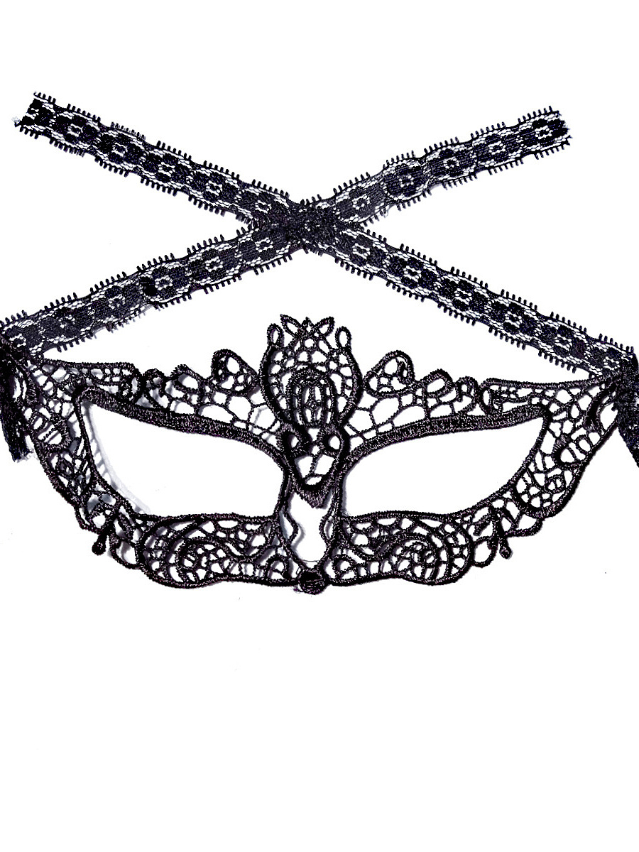 Fox Shape Sexy Lace Mask Hair Accessories