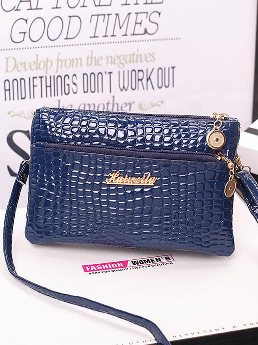 Crocodile Small Square Bag Multilayer Women's Bag