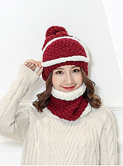 Korea Stylish Warm Knitted Crochet Hats For Winter
