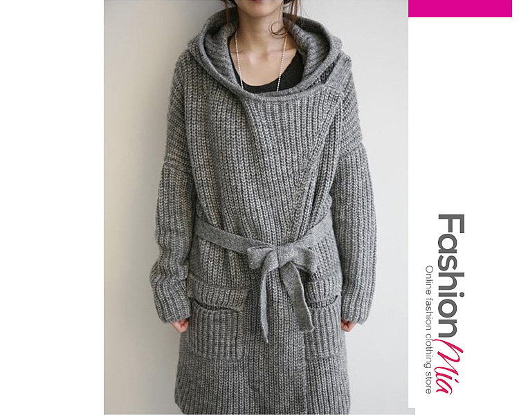 gender:women, hooded:yes, thickness:thick, brand_name:fashionmia, outerwear_type:coat, style:fashion,japan & korear,lady style, material:cotton,knit, collar&neckline:hooded, sleeve:long sleeve, embellishment:slit pocket, more_details:belt,belt loops, pattern_type:plain, supplementary_matters:all dimensions are measured manually with a deviation of 2 to 4cm., occasion:basic,date,nightout, season:autumn,winter, package_included:top*1, lengthshouldersleeve lengthbust