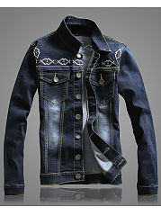 Band-Collar-Denim-Flap-Pocket-Embroidery-Men-Jacket