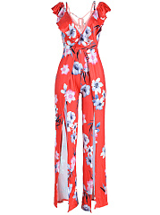 Open-Shoulder-Flounce-High-Slit-Floral-Wide-Leg-Jumpsuit