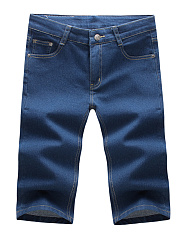 Basic-Plain-Patch-Pocket-Mens-Midi-Jeans