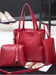Two Pieces European Style Shoulder Bag