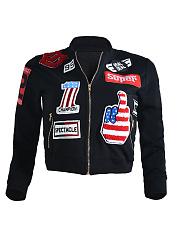 Zips-Badge-Long-Sleeve-Jackets