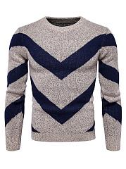 Round-Neck-Color-Block-Mene28099S-Sweater