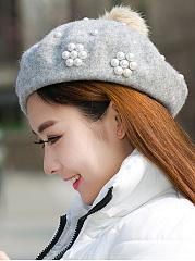Elegant-Style-Beading-Decoration-Woolen-Hats