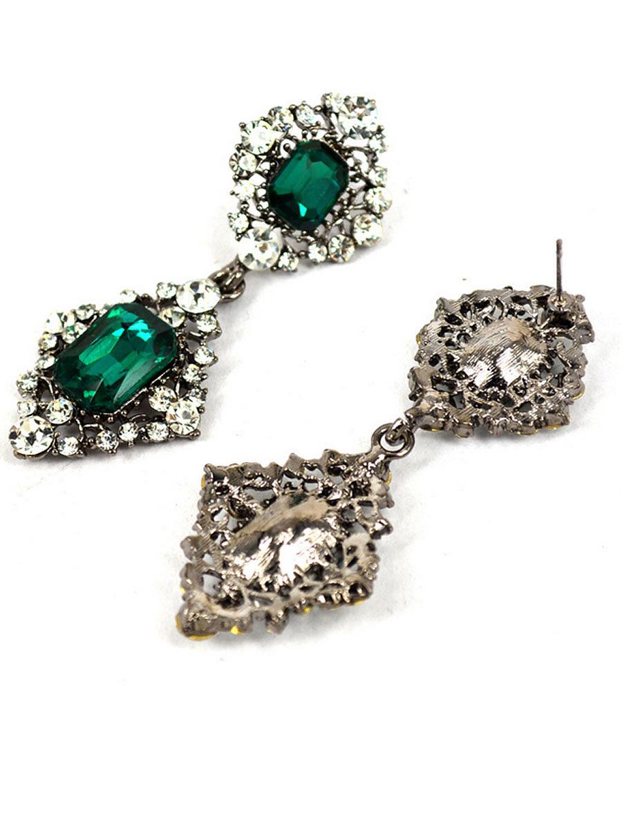 Graceful Faux Crystal Earring