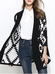 Batwing Sleeve Knit Cardigans