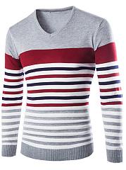 V-Neck-Striped-Mene28099S-Sweater