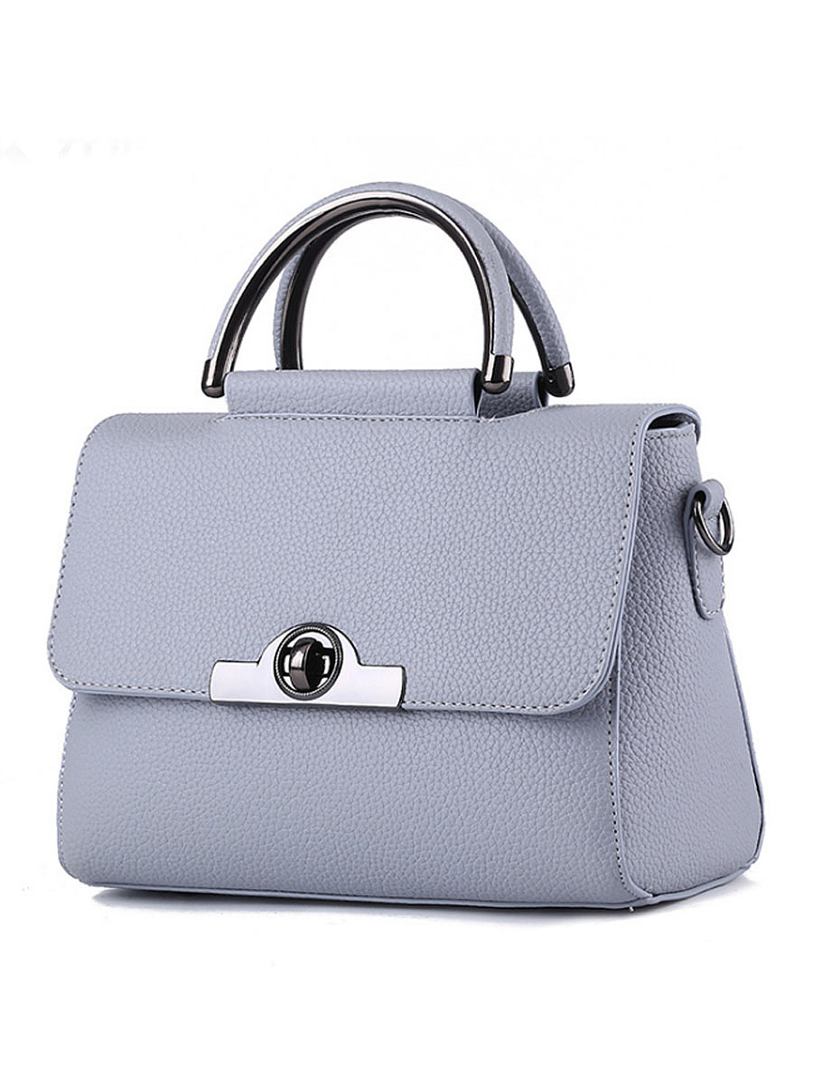 Plain Pu High Quality Crossbody Bag